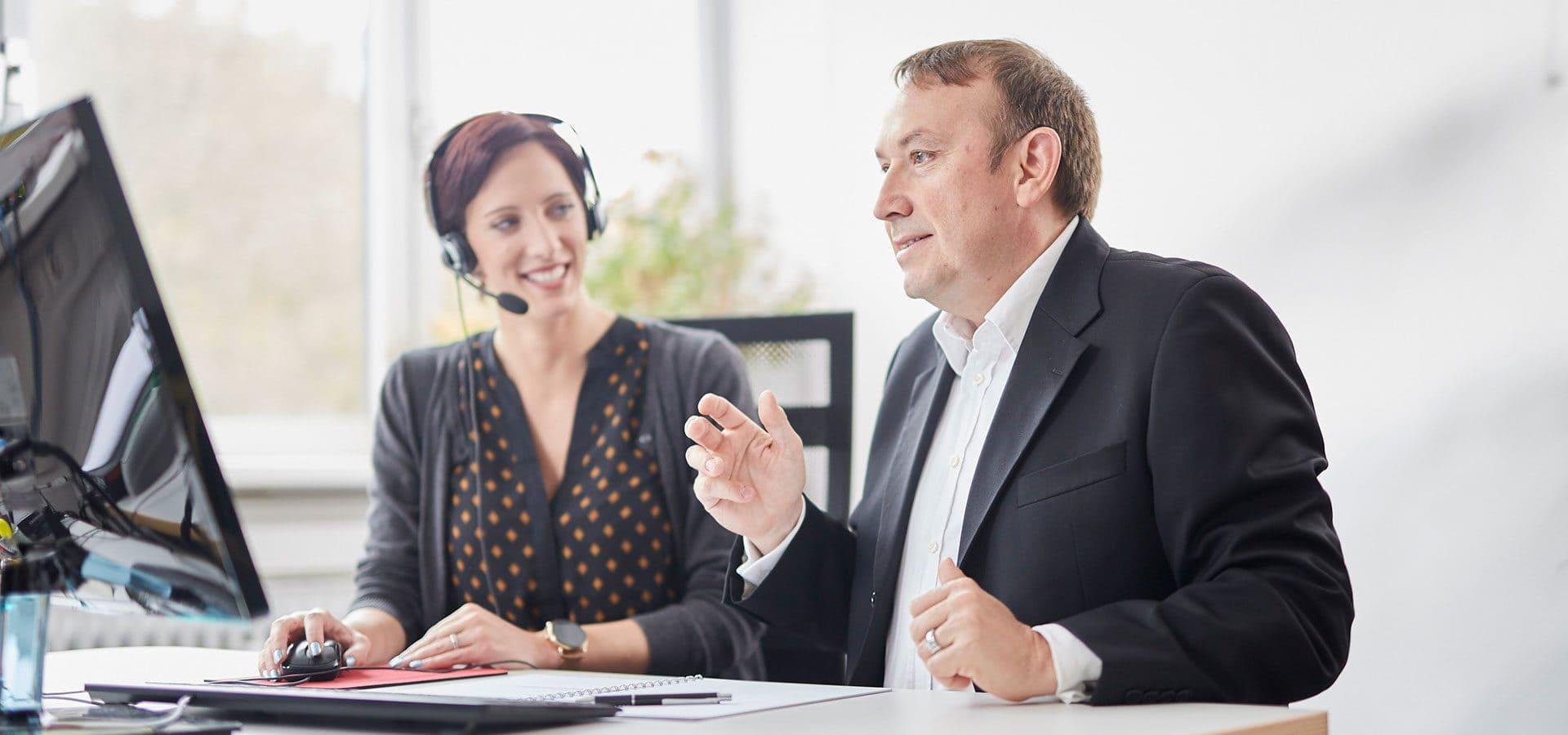 Vertriebscoaching für Kunden und Mitarbeiter SAY Sales Agency