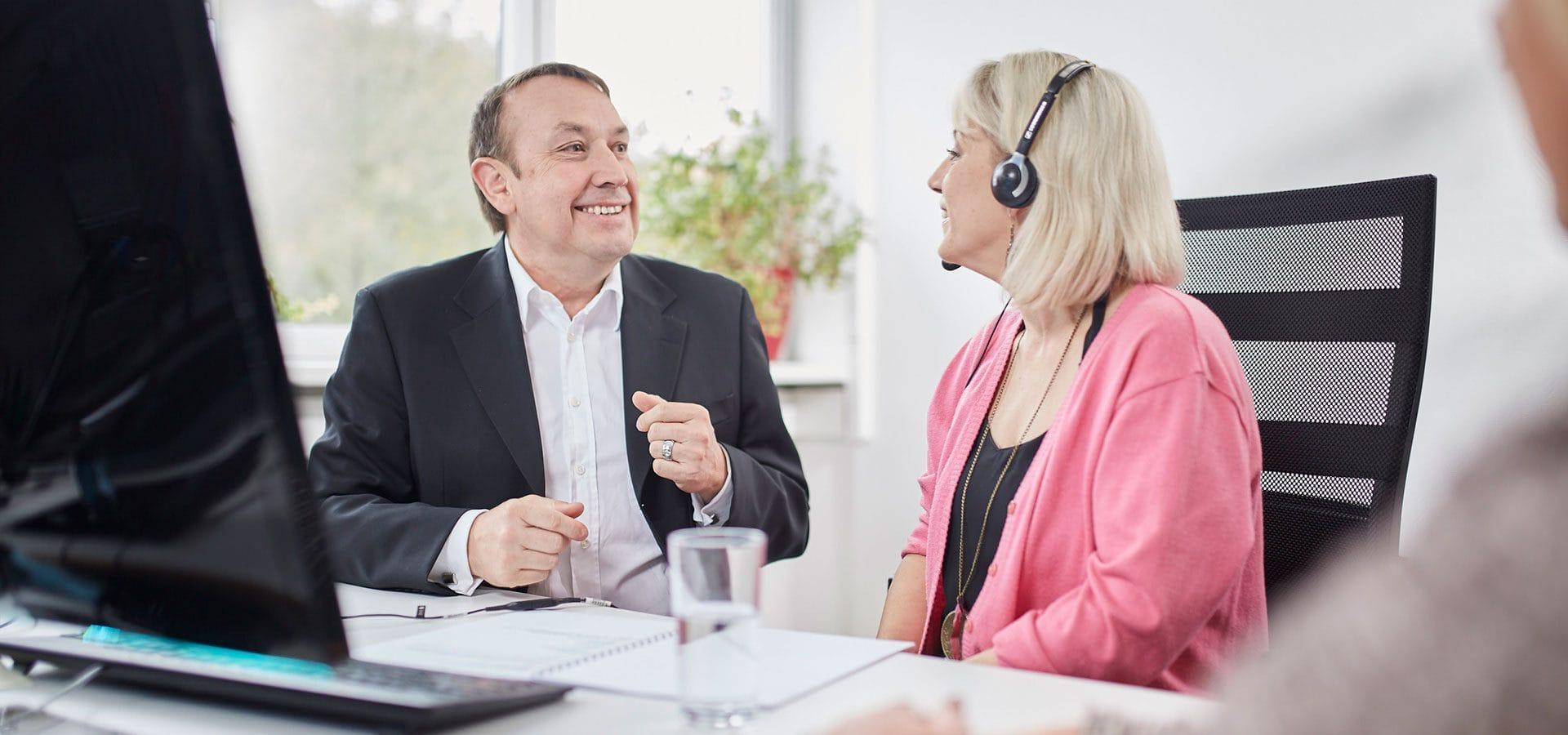 Ulrich Velz Vertriebscoaching für Kunden und Mitarbeiter SAY Sales Agency